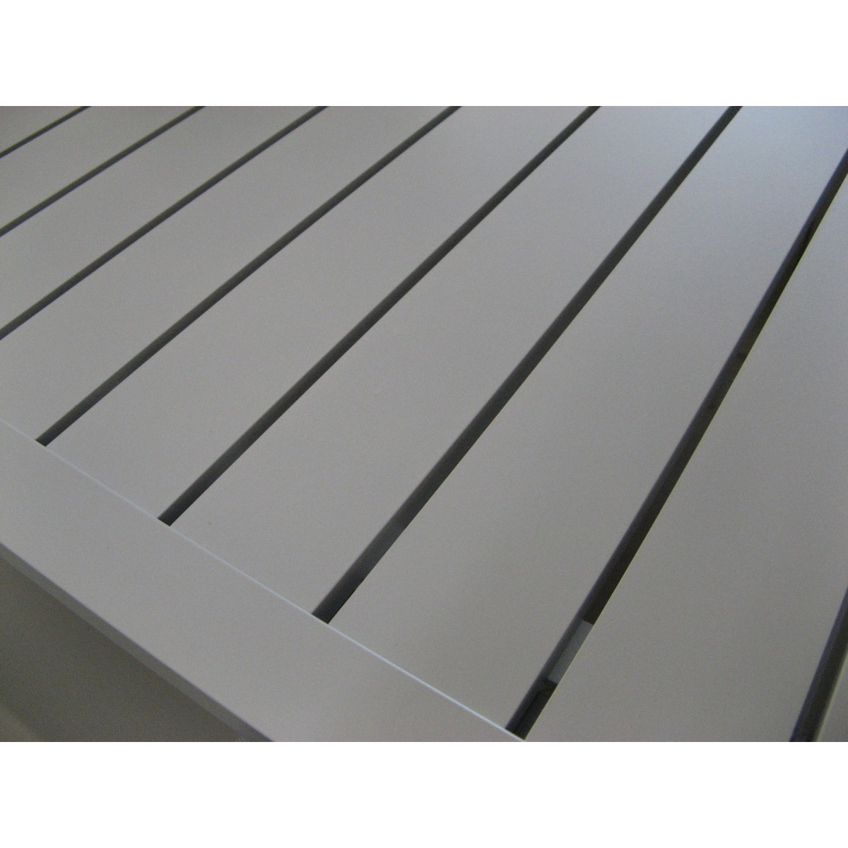 Table de repas en aluminium sp cial ext rieur en coloris for Table exterieur aluminium
