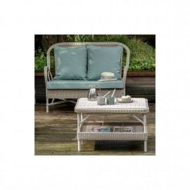 Table Basse Nantucket Rectangulaire Resine Dune