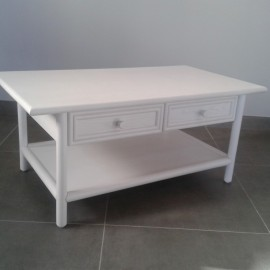 Table Basse Caracas Blanche