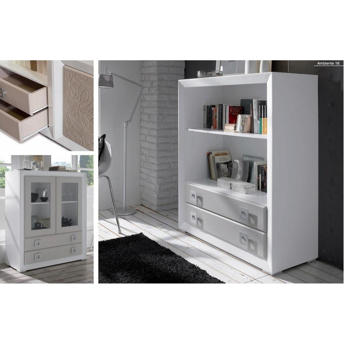 meuble d 39 ent e en bois laqu. Black Bedroom Furniture Sets. Home Design Ideas