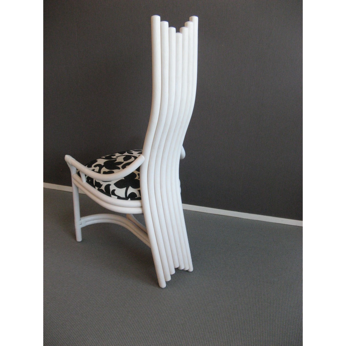 Chaise en rotin coloris design for Chaise rotin design