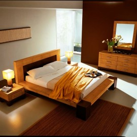 lit tapissier en bambou. Black Bedroom Furniture Sets. Home Design Ideas