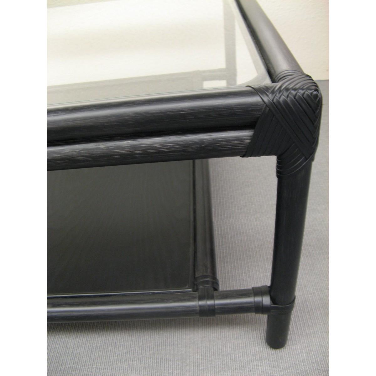 table basse miami noir. Black Bedroom Furniture Sets. Home Design Ideas