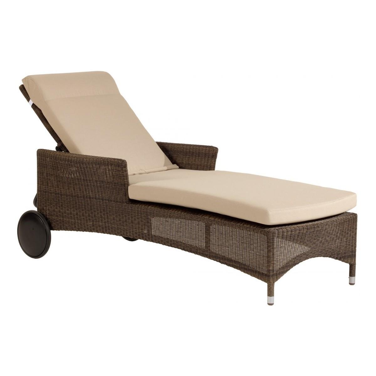 Chaise exterieur aluminium conceptions de maison for Chaise longue exterieur