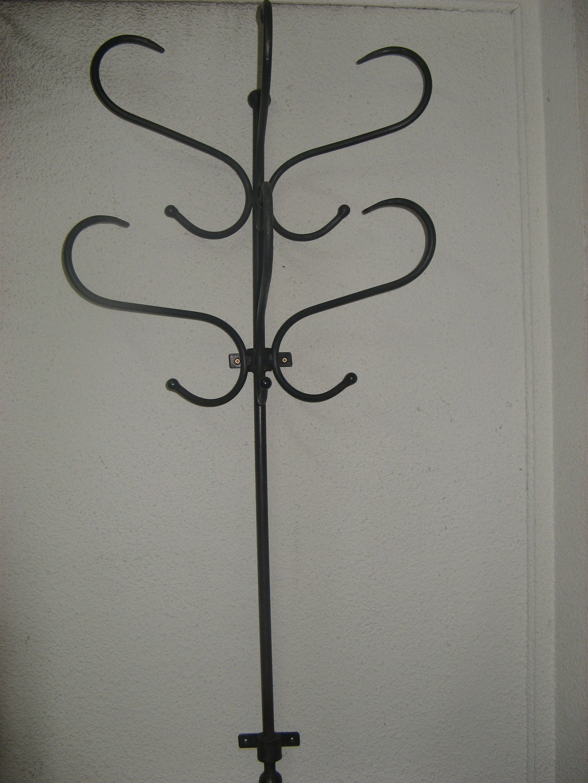 D co fer forg mural fashion designs - Porte manteau mural fer forge ...