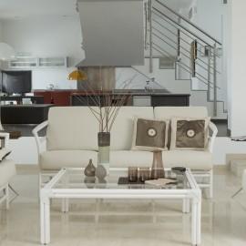 Table Basse Madrid Carrée Blanc