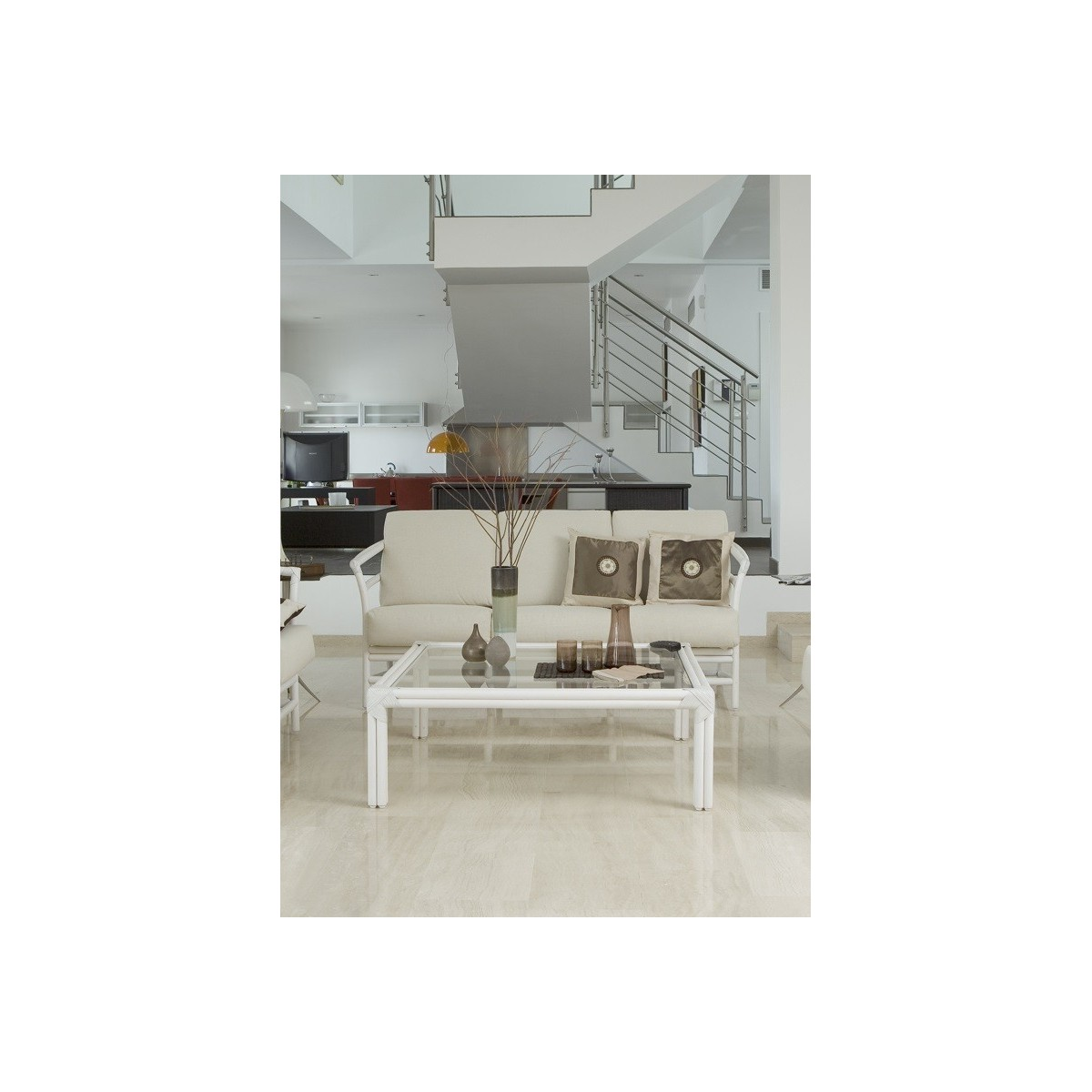 Wundersch Nen Table Basse Blanche Carr E Id Es De Conception De Table Basse