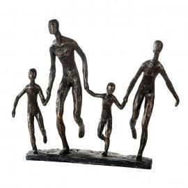 Sculpture Famille