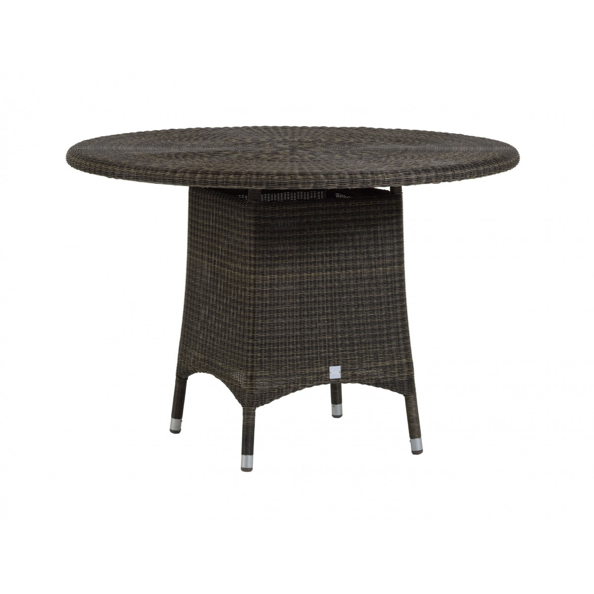 Table de repas cigale en r sine et aluminium sp cial for Table exterieur en resine