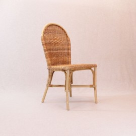 Chaise Victoria en Rotin Naturel