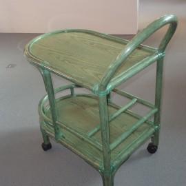 Table Roulante Verte