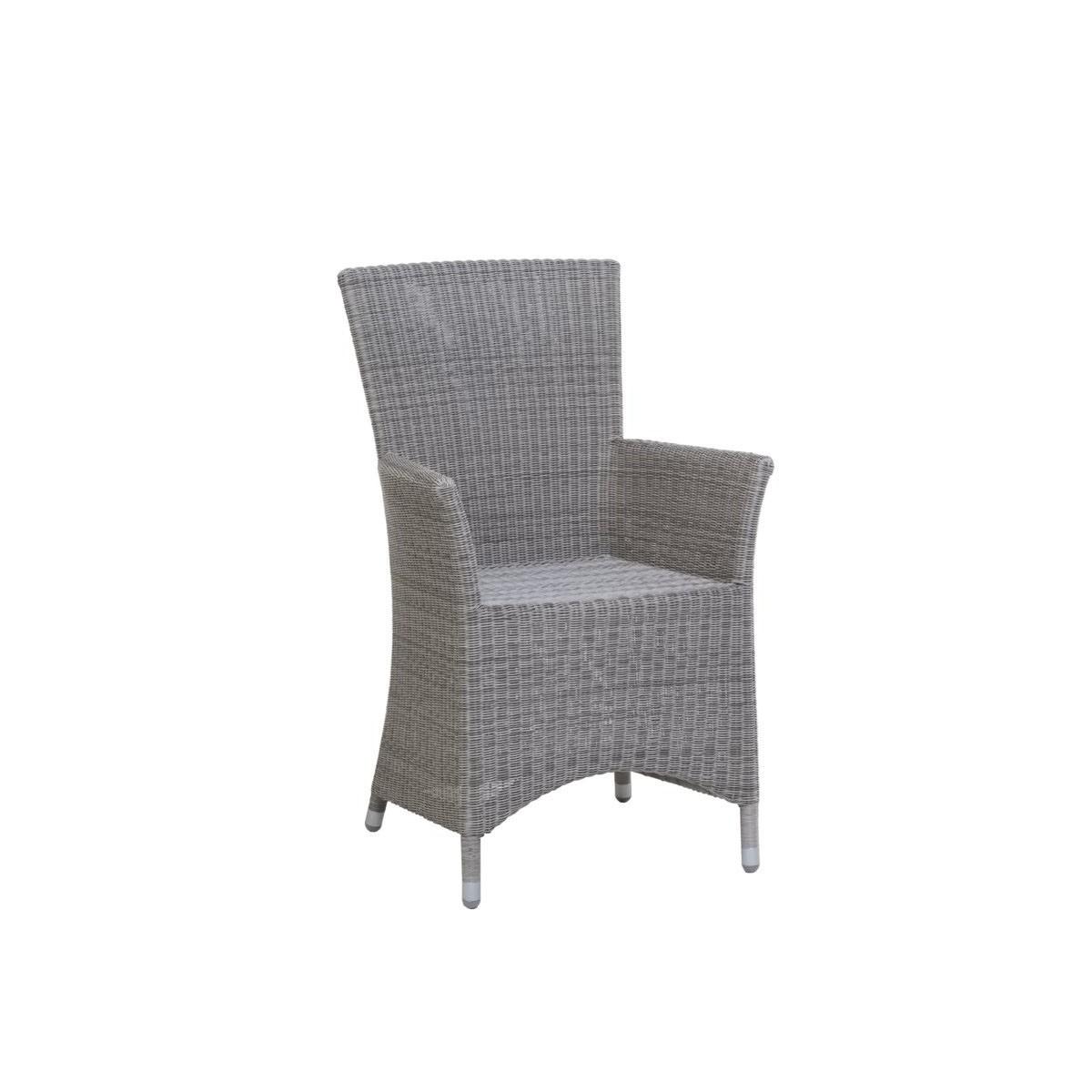 fauteuil de table nevis en r sine et aluminium sp cial ext rieur. Black Bedroom Furniture Sets. Home Design Ideas