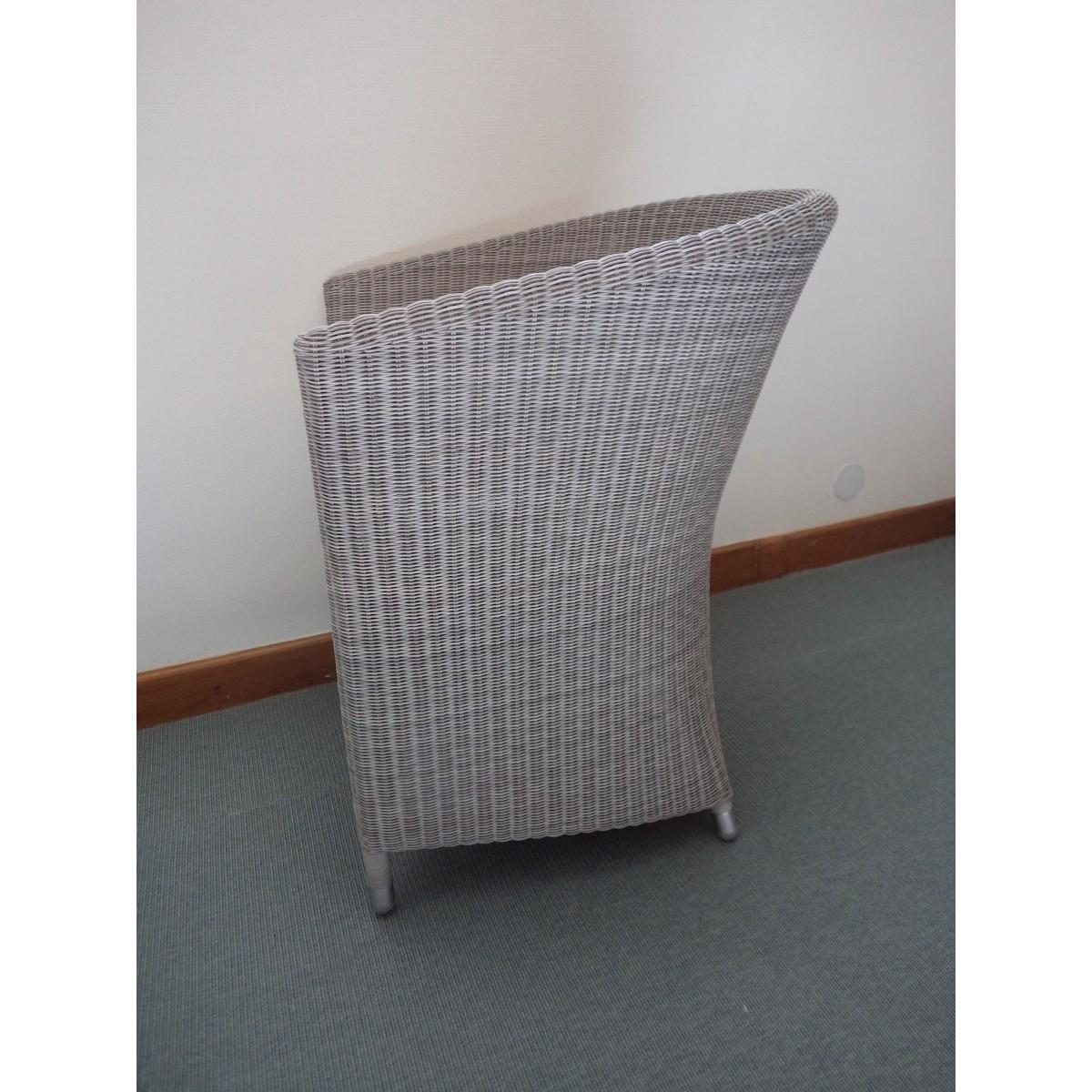 Fauteuil de table nemo en r sine et aluminium sp cial for Table exterieur en resine