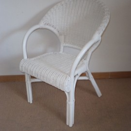 Fauteuil Melody Blanc