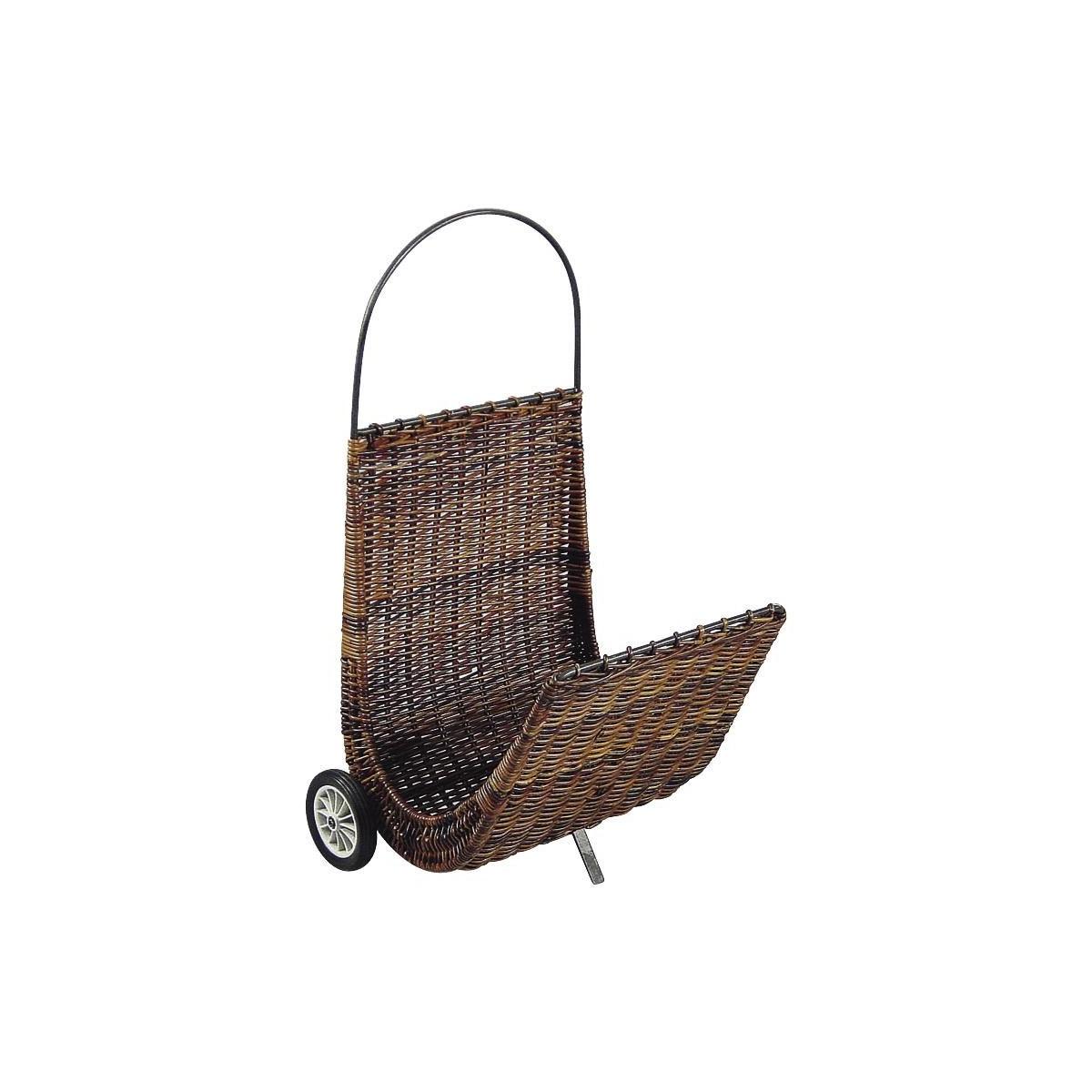 panier bois roulette panier pour bois panier a pellets. Black Bedroom Furniture Sets. Home Design Ideas