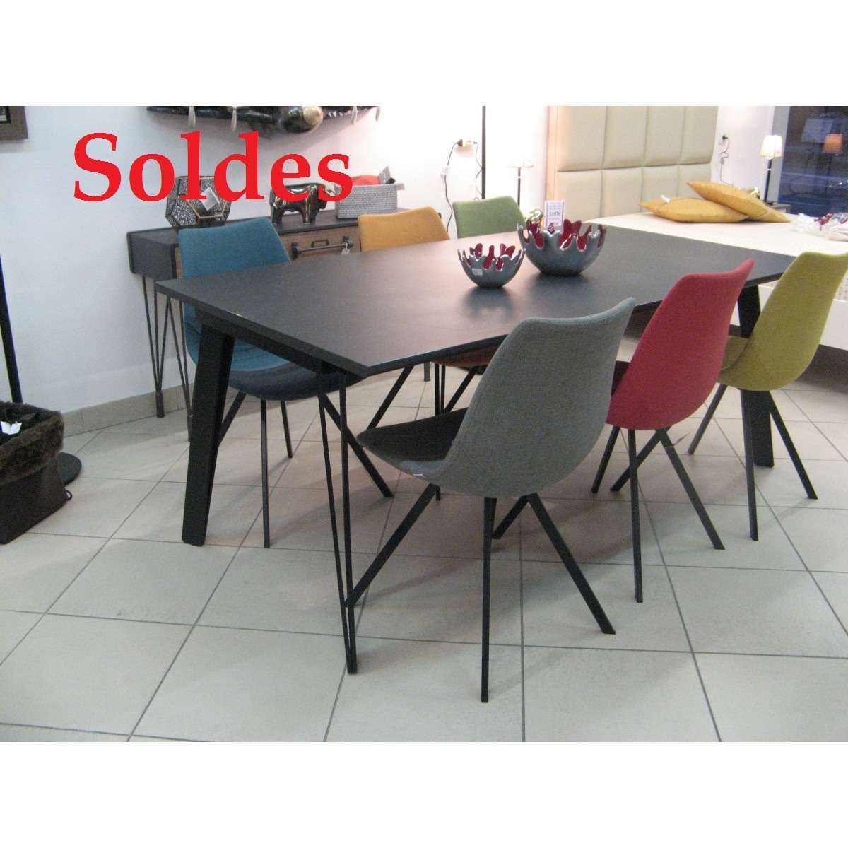 solde table c ramique 180x100. Black Bedroom Furniture Sets. Home Design Ideas