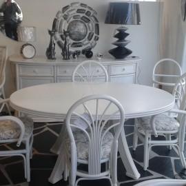 Table Tortola Ovale rotin