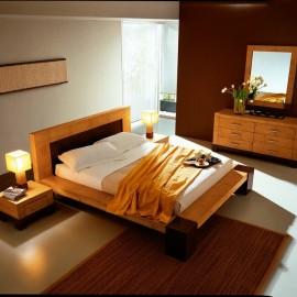 Lit en Bambou 160x200