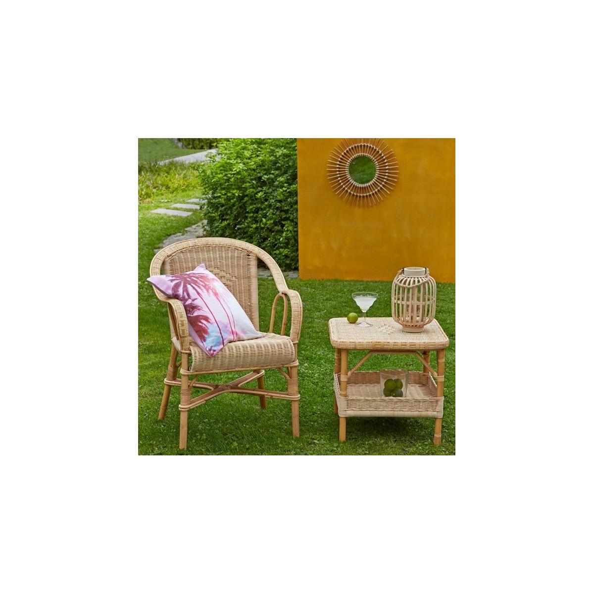salon en moelle de rotin. Black Bedroom Furniture Sets. Home Design Ideas