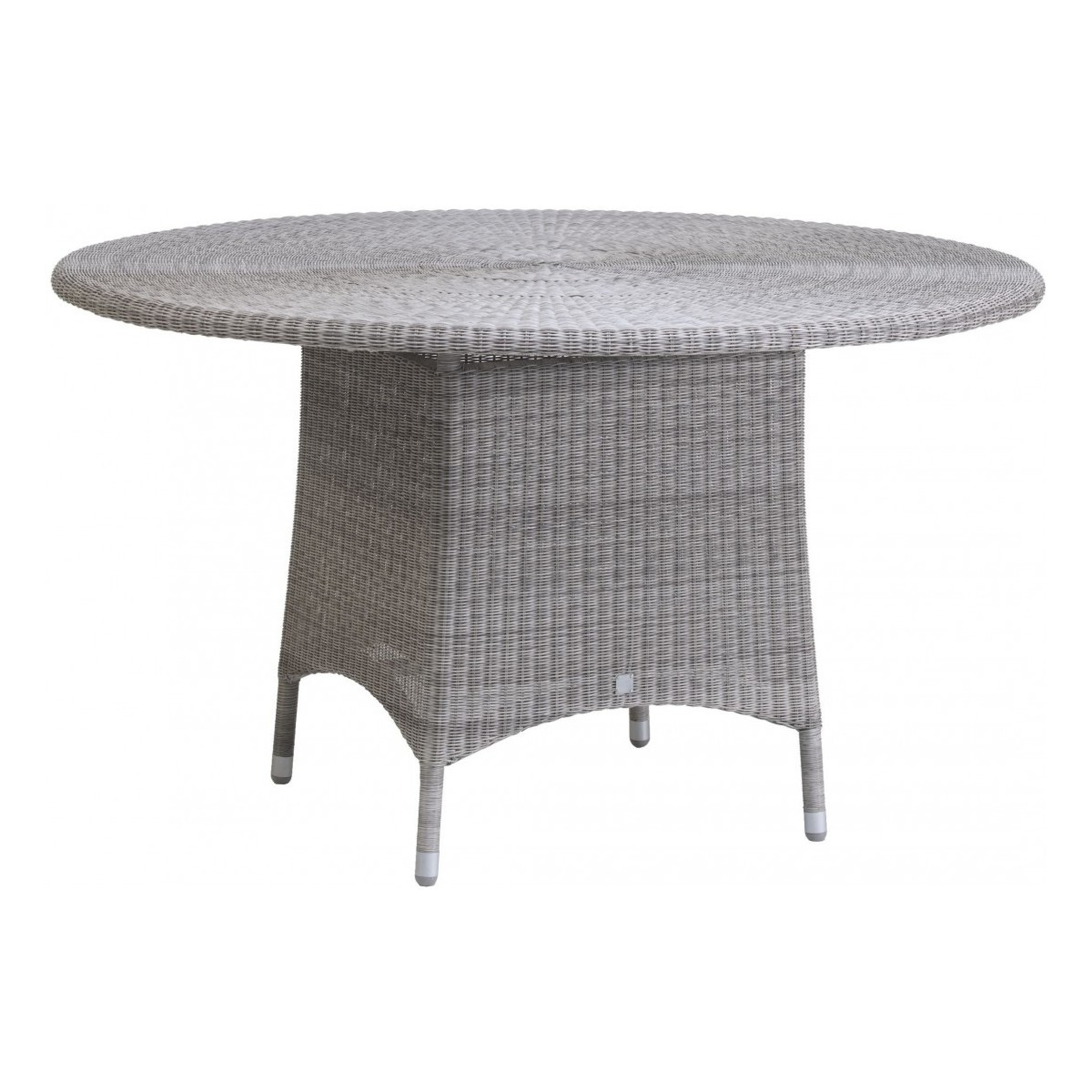 Table Diamètre 130 Résine Gris