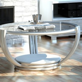 Table Basse Vancouver Blanc