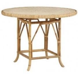Table Grand Père Rotin Naturel Diamètre 110 cm