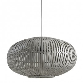 Suspension Bambou gris
