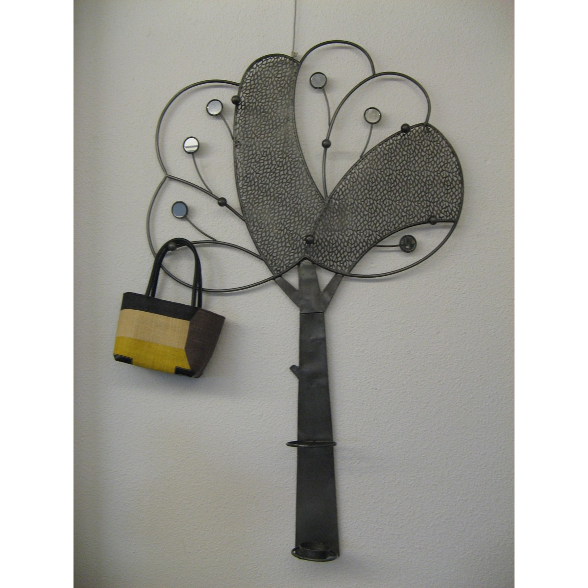 porte manteau mural arbre metal. Black Bedroom Furniture Sets. Home Design Ideas