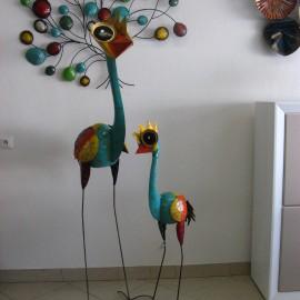 Autruche Turquoise H.180