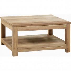 Table basse Teck 81x81