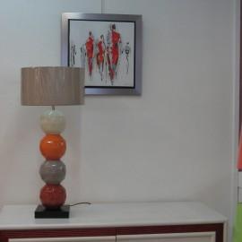 Lampe Origami Orange