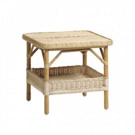 Table Basse Carrée Nantuket Rotin naturel