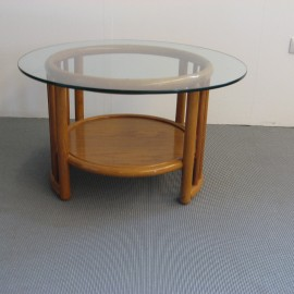 Table Basse Denvers Ronde Cannelle
