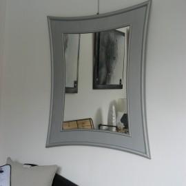 Miroir Rotin Tortula x Argent