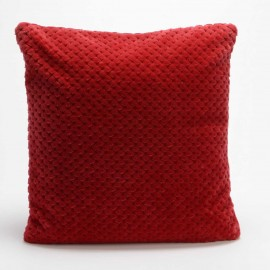 Coussin Damier Rouge