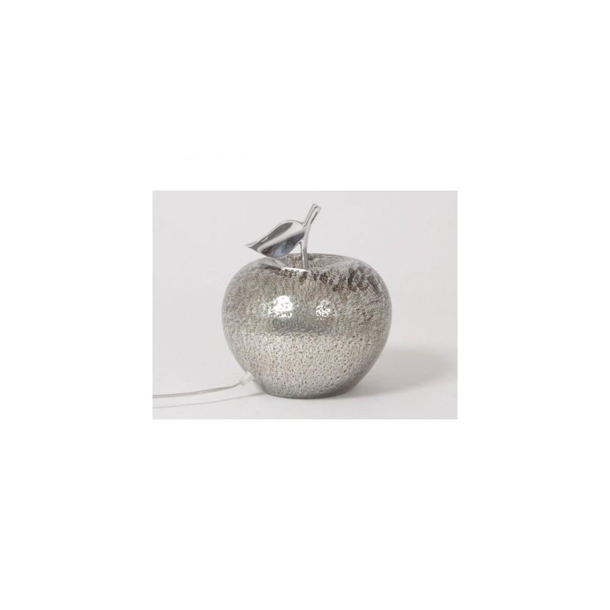 Lampe Pomme Argent