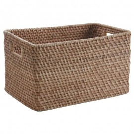 Casier Rotin naturel 38x26
