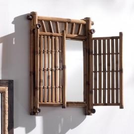 Miroir Bambou Fenetre