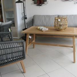 Table en teck 130x70