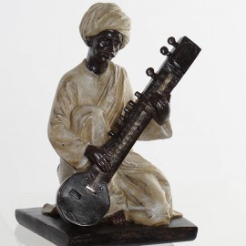 Figurine Musicien Mandoline