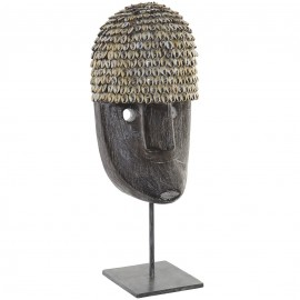 Sculpture Masque Albasia Autochtone