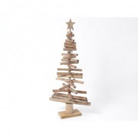 Sapin de Noël en Bois Flotté 100cm