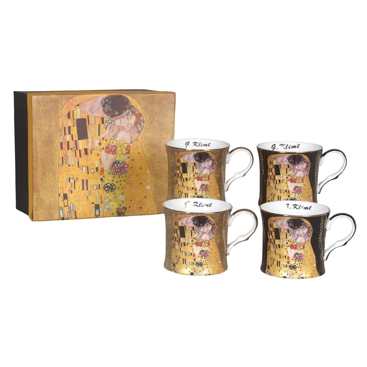 Coffret 4 Mugs Klimt