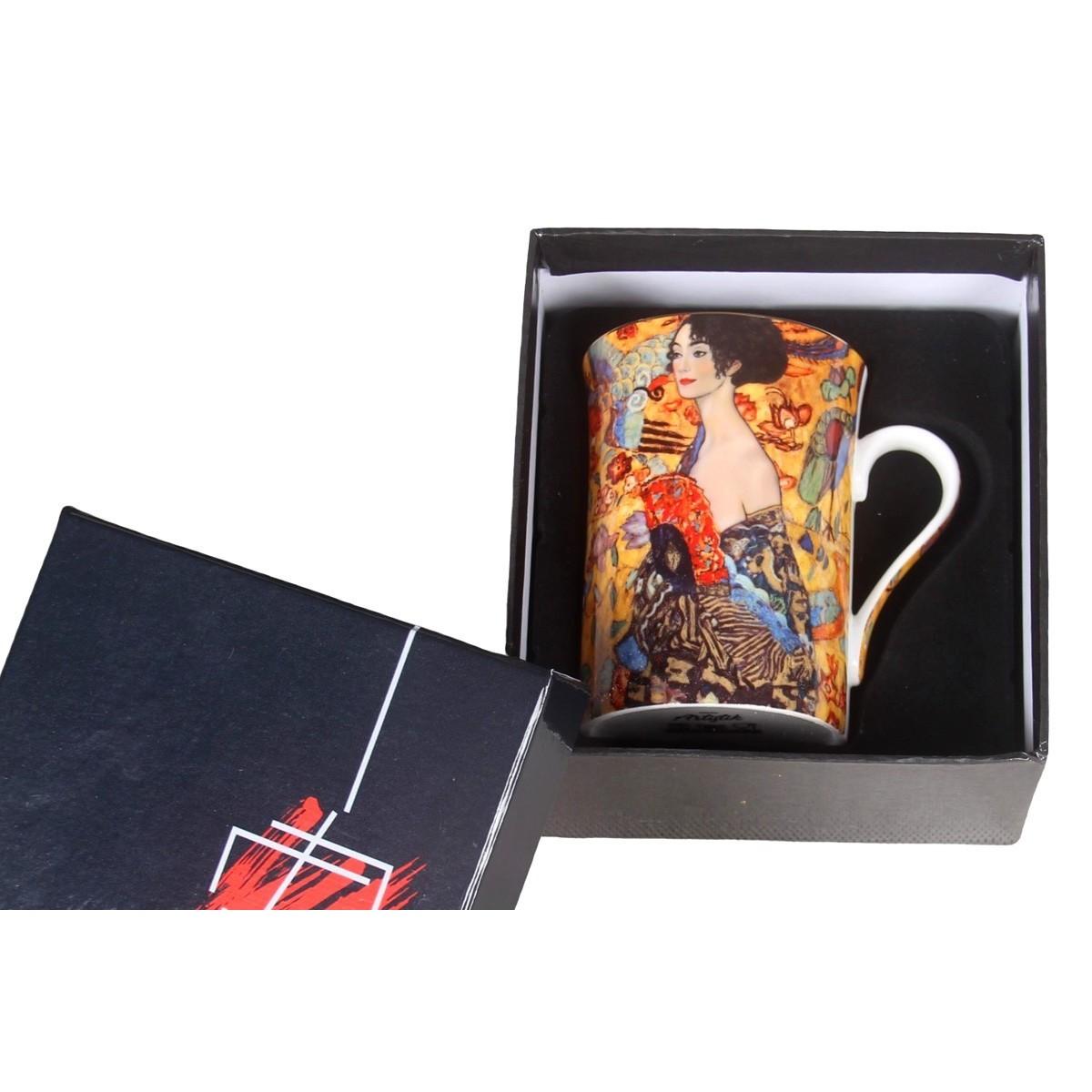 Mug Dame avec un evantail de Klimt