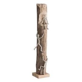 Sculpture 3 grimpeurs