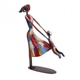 statue Femme Pigment