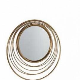 Miroir Métal Doré 73x73