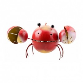Lanterne Métal Crabe Rouge