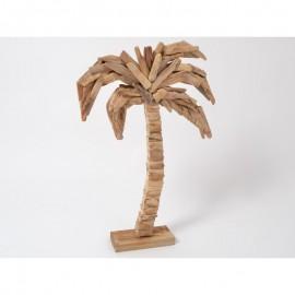 Palmier en Bois Flotté 65cm