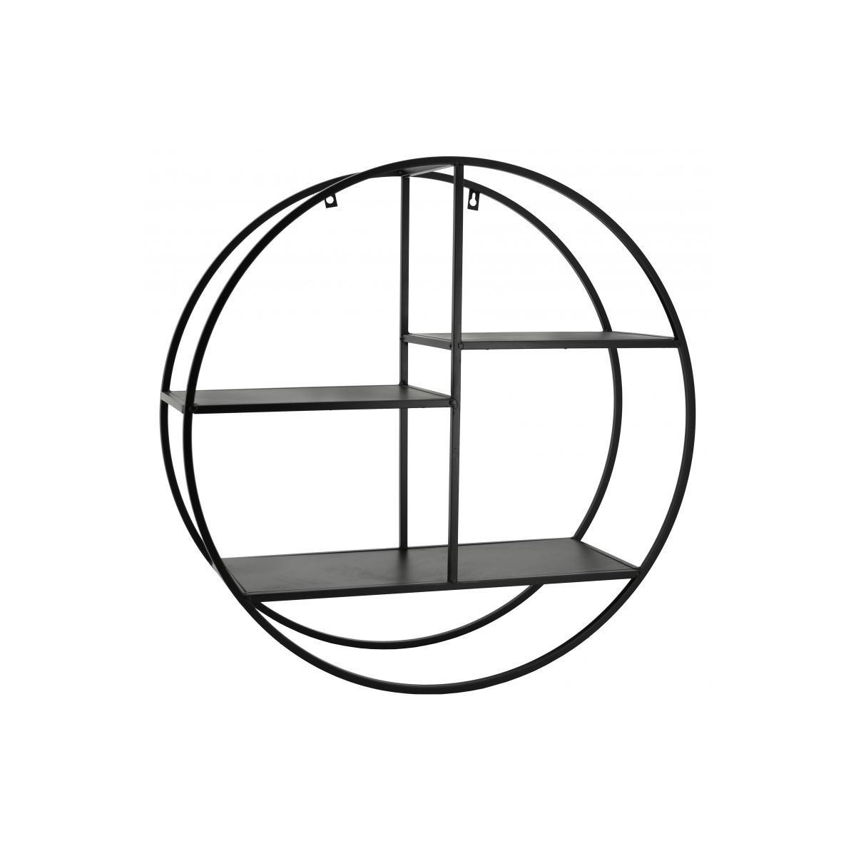 Etagère murale cercle en Métal 67x67